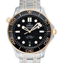 Omega Seamaster Diver 300 M Or jaune 42mm Noir