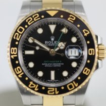 Rolex GMT-Master II Gold/Steel 40mm Black No numerals United States of America, Florida, Miami Beach