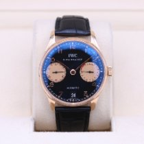 IWC Portuguese Automatic Rose gold 42mm Black