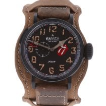 Zenith Pilot Type 20 GMT Titanium 48mm Black