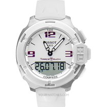 Tissot T-Race Touch Acero 42mm Blanco