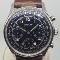 Gallet Steel 37.5mm Manual winding 5193 pre-owned United States of America, Colorado, 80206