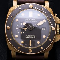 Panerai Luminor Submersible Bronze 47mm Brown No numerals