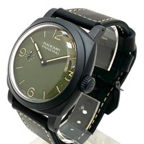 Panerai Radiomir Ceramic 48mm Green Arabic numerals