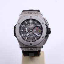 Hublot Big Bang Ferrari Titanium 45mm Transparent Arabic numerals