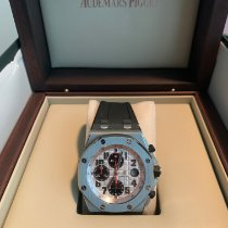 Audemars Piguet Royal Oak Offshore Chronograph Steel 42mm Silver Arabic numerals United States of America, Texas, Trophy Club