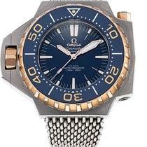 Omega Seamaster PloProf Titanium 55mm Blauw