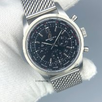 Breitling Transocean Unitime Pilot Steel 46mm Black United States of America, Kentucky, Lexington