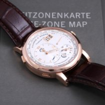 A. Lange & Söhne Lange 1 Rose gold Silver Roman numerals United States of America, California, Beverly Hills