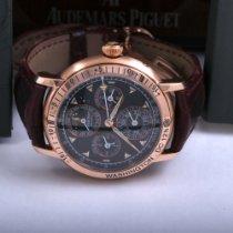 Audemars Piguet Jules Audemars Pозовое золото 39mm Черный