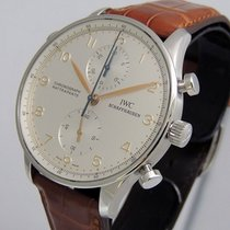 IWC Portuguese Chronograph Steel 41mm Silver United States of America, California, Los Angeles