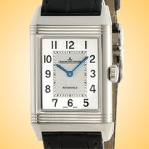 Jaeger-LeCoultre Reverso Classique Steel 45.6mm Silver Arabic numerals United States of America, Illinois, Northfield