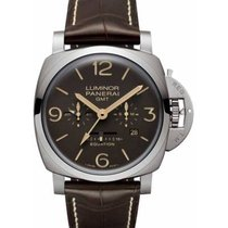 Panerai Luminor 1950 8 Days GMT PAM00656 2020 new
