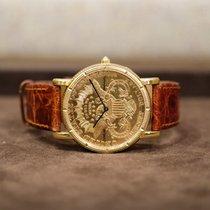Corum Coin Watch Gelbgold Gold