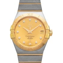 Omega Constellation Men 38mm Champagne