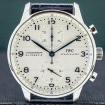 IWC Portuguese Chronograph Steel 40mm Silver Arabic numerals United States of America, Massachusetts, Boston