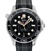 Omega Seamaster Diver 300 M Steel 42mm Black