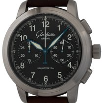 Glashütte Original Senator Navigator Chronograph 39-34-17-17-04 Very good Steel 44mm Automatic