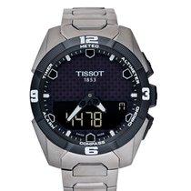 Tissot T-Touch Expert Solar T091.420.44.051.00 Новые Титан 45mm Кварцевые