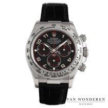 Rolex Witgoud Automatisch Zwart 40mm tweedehands Daytona