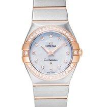 Omega Constellation Quartz Steel 27mm Mother of pearl