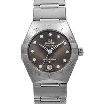 Omega Constellation Ladies Steel 29mm Grey
