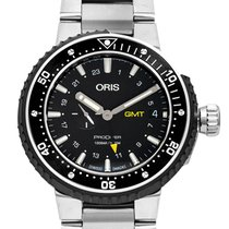 Oris ProDiver GMT new 2020 Automatic Watch with original box and original papers 01 748 7748 7154-07 8 26 74PEB