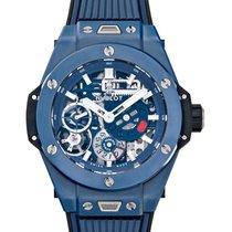 Hublot Big Bang Meca-10 Cerámica 45mm Azul