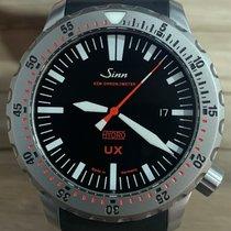 Sinn UX Acier 44mm Noir Sans chiffres