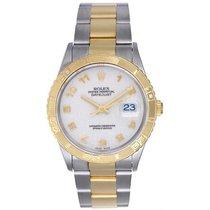 Rolex Datejust Turn-O-Graph Gold/Steel 36mm Champagne Arabic numerals United States of America, Texas, Dallas