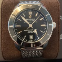 Breitling Superocean Héritage II 46 Steel 46mm Black No numerals