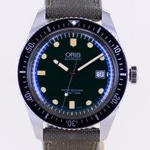 Oris Divers Sixty Five Zeljezo 42mm Zelen Bez brojeva