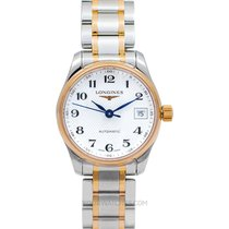 Longines Master Collection Rose gold 25.5mm Silver