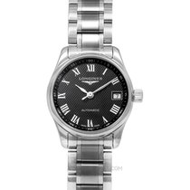 Longines Master Collection Steel 25.50mm Black