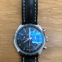 Breitling Transocean Chronograph GMT Steel 45mm Black No numerals