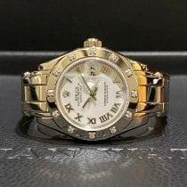 Rolex Pearlmaster White gold 29mm White Roman numerals