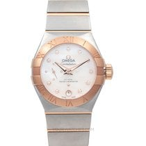 Omega Constellation Petite Seconde 27mm Nacre