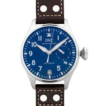 IWC Big Pilot Steel 46.2mm Blue