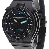 Porsche Design Diver Titanium 47mm Black