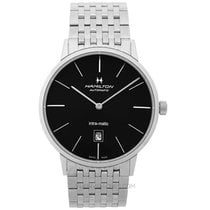 Hamilton Intra-Matic Steel 42mm Black