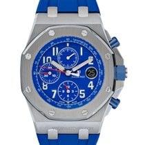Audemars Piguet Royal Oak Offshore Chronograph Stahl 42mm Blau