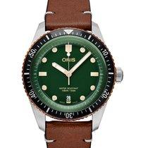 Oris Divers Sixty Five Steel 40mm Green