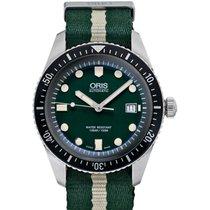 Oris Divers Sixty Five Acero 42mm Verde