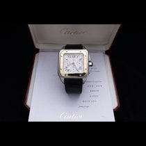 Cartier Santos 100 Золото/Cталь 41mm Cеребро Римские