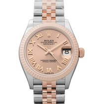 Rolex Lady-Datejust Steel 31mm Red