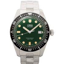 Oris Divers Sixty Five Steel 42.00mm Green