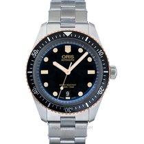 Oris Divers Sixty Five Steel 40.00mm Black