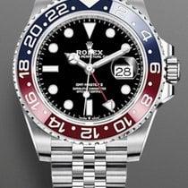 Rolex GMT-Master II Steel 40mm Black No numerals United States of America, New York, Brooklyn