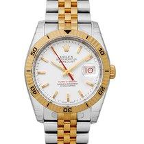 Rolex Datejust Turn-O-Graph nuovo 2021 Orologio con scatola e documenti originali 116263 WH