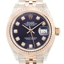 Rolex Lady-Datejust nuevo Automático Reloj con estuche y documentos originales 279171GAUBERGINE_J